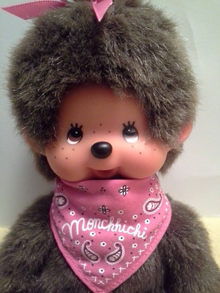 Excited to share the latest addition to my etsy shop: Monchhichi Vintage 1974 Little Monkey STUFFED Toy Brown, Collectible Monchhichi http://etsy.me/2tkP4oz