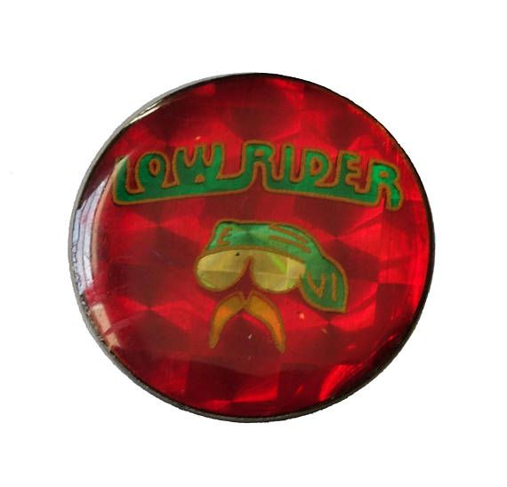 "LOW RIDER vintage enamel pin lapel badge motorcycle mustache by VintageTrafficUSA  14.00 USD  A vintage Lowrider pin! Excellent condition. Measures: approx 1"" 20 years old hard to find vintage high-quality lapel/pin. Have some individuality = some flair! Add inspiration to your handbag tie jacket backpack hat or wall. -------------------------------------------- SECOND ITEM SHIPS FREE IN USA!!! LOW SHIPPING OUTSIDE USA!! VISIT MY STORE FOR MORE ITEMS!!! http://ift.tt/1PTGYrG FOLLOW ME ON…"