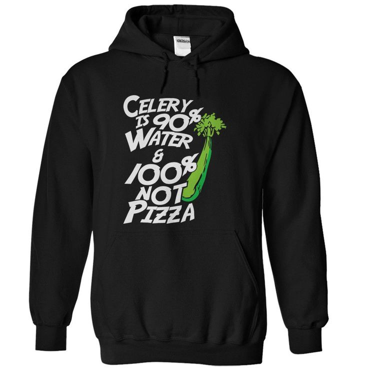 Celery is 95% Water and 100% Not Pizza