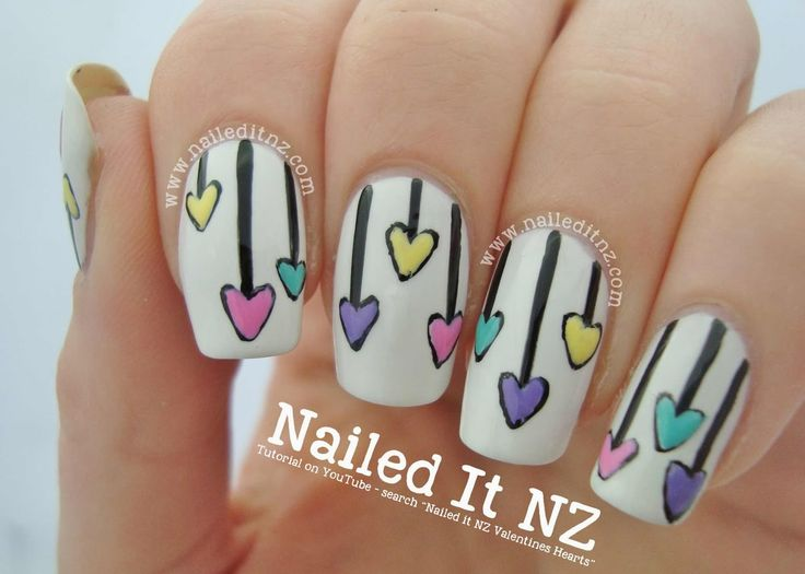 56 best daisy nail art design tutorials & video gallery by nded ...
