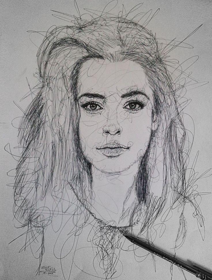 Scribble Sketch Drawing : Best scribbles drawings شَخبطة images on pinterest
