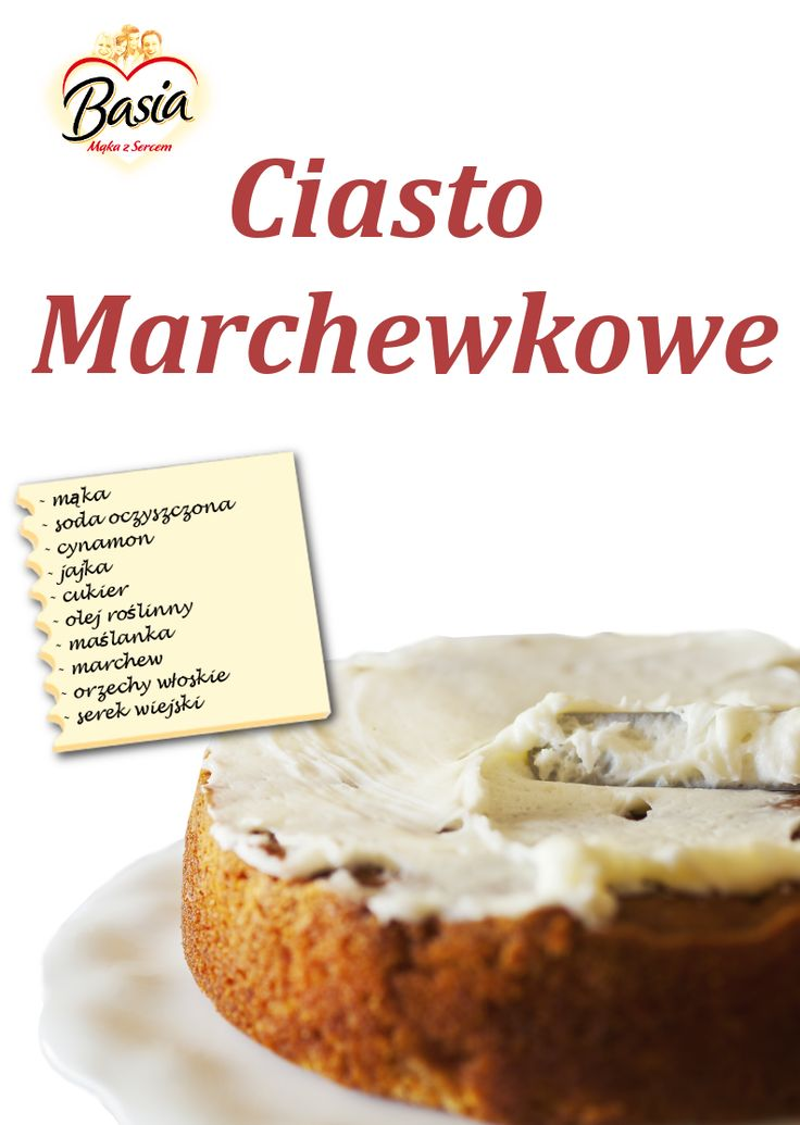 Ciasto marchewkowe: http://on.fb.me/1yppOFQ