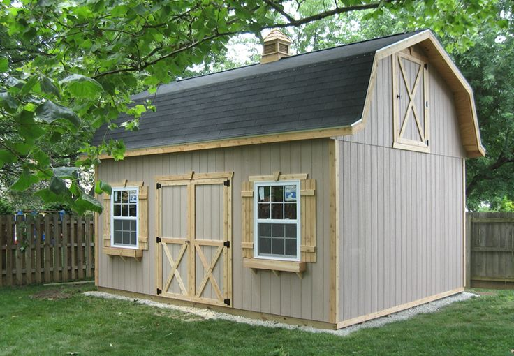 77 best images about storage shed on pinterest storage for Dutch barn shed plans