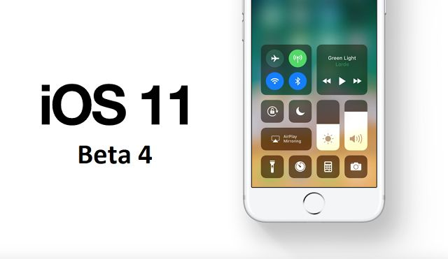 Apple released iOS 11 beta 4 to developers. Apple today released a fourth beta of iOS 11 for iPhone, iPad, and iPod touch. How to download iOS 11 public beta 4 to your iPhone or iPad