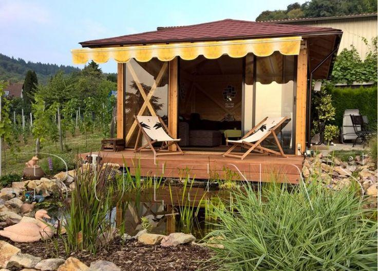 Uberlegen Pavillon Selber Bauen Mit Einem Balkon Ist Uach Eine Tolle Idee