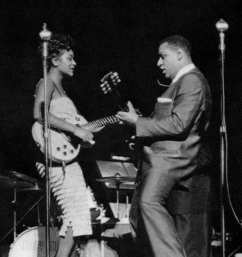 Sylvia Robinson and Mickey Baker.