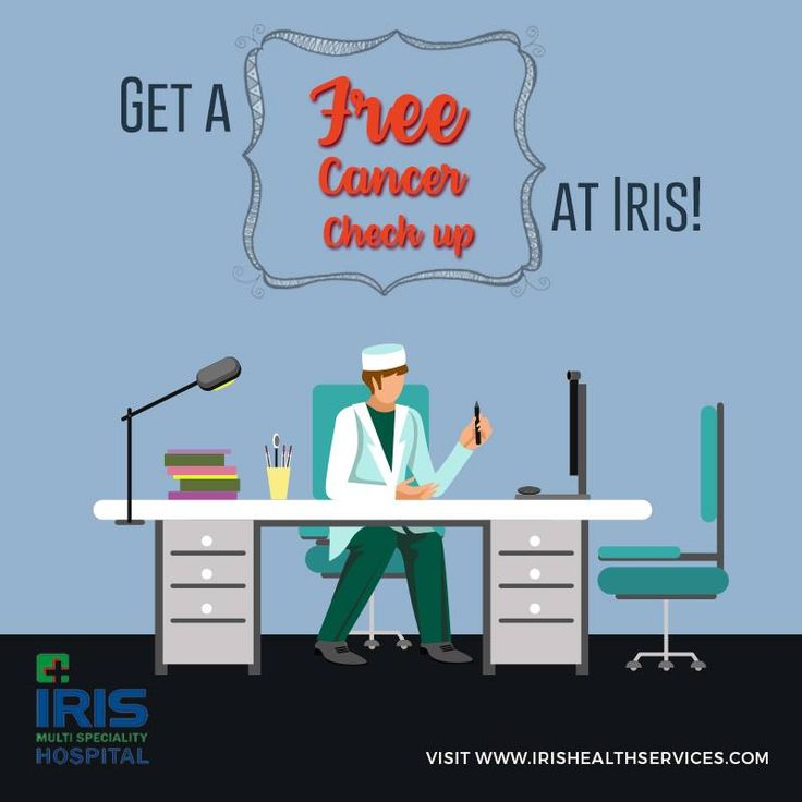 Come down to Iris Multispecialty Hospital for a free check up for Cancer!