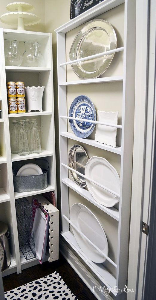DIY Custom Plate Rack (For Under $40)