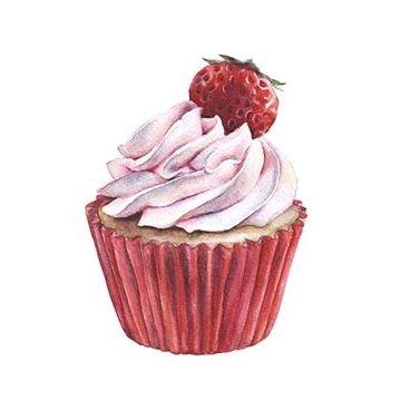 Cupcake Pattern por Katherine Dae en Behance
