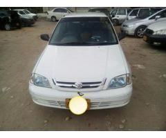 Suzuki Cultus for sale good amount good working status call us