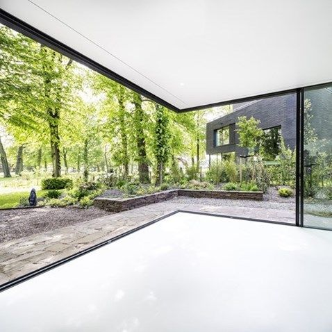 Villa In Park Brederode Bloemendaal - MethermoXL schuifpuien - Metaglas