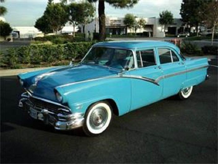 1000 images about classic ford edsel automobiles on for 1956 ford fairlane 4 door hardtop