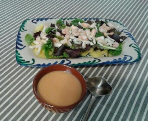 Ensalada de patata y canónigos para #Mycook http://www.mycook.es/receta/ensalada-de-patata-y-canonigos/