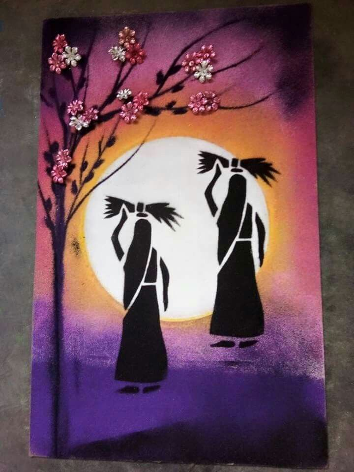 Shadow Painting In 2019 Shadow Painting African Art
