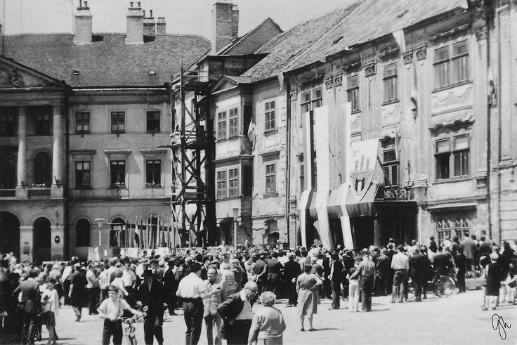 Soproni Ünnepi Hetek - megnyitó, 1970-es évek eleje