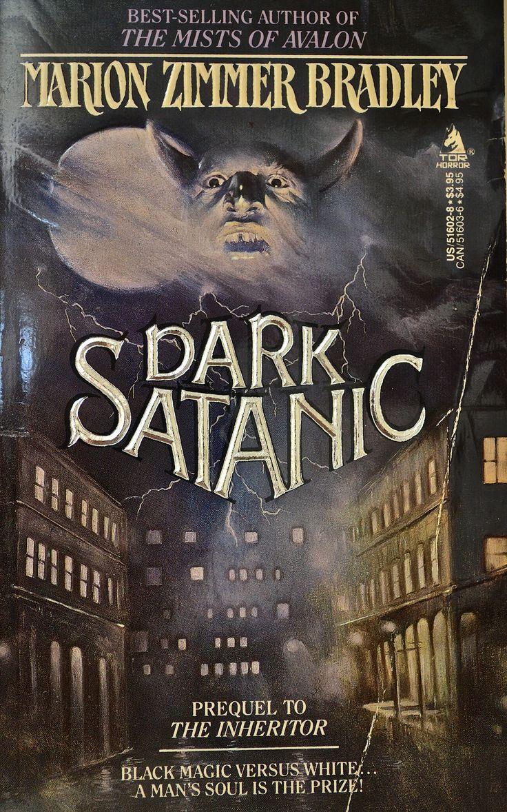 Dark Satanic by Marion Zimmer Bradley  Cover Artist: Mariano Perez Clemente (aka Maren)
