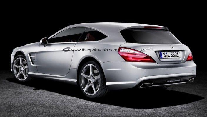 Mercedes SL Shooting Brake 3