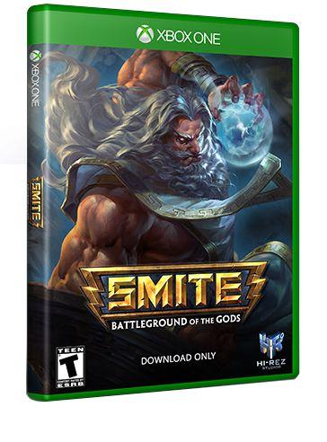SMITE Xbox One closed beta key