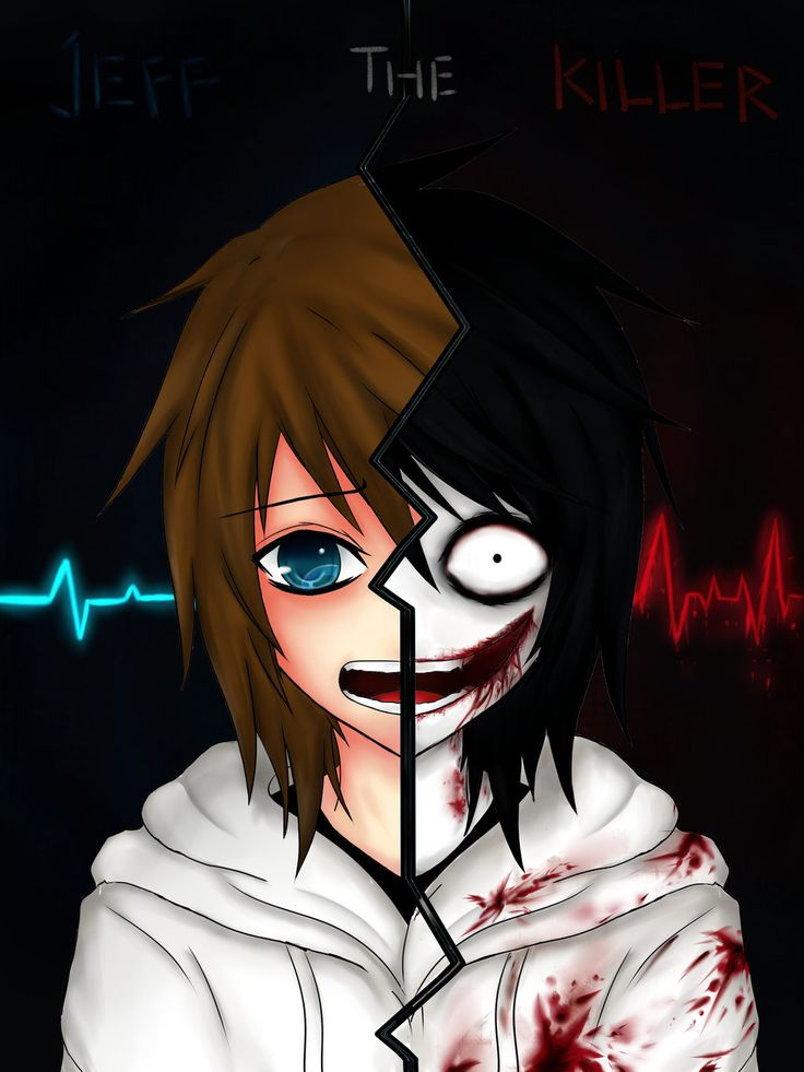 Jeff The Killer Before and After by Ren-Ryuki.deviantart.com on @deviantART