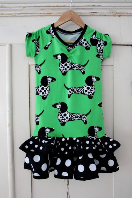 A dress from Majapuu's jersey