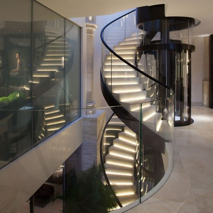 Stunning Staircase And Elevator Design Ideas: Howes & Rigby. Stunning New Project