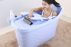 $86.90 for a Portable Spa Bathtub (worth $199). Option with Spa Massage Panel Available