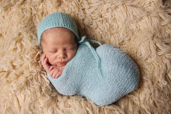 Newborn Classic Bonnet Newborn Baby Hat 012 by SquishyBabyStuff, $12.99