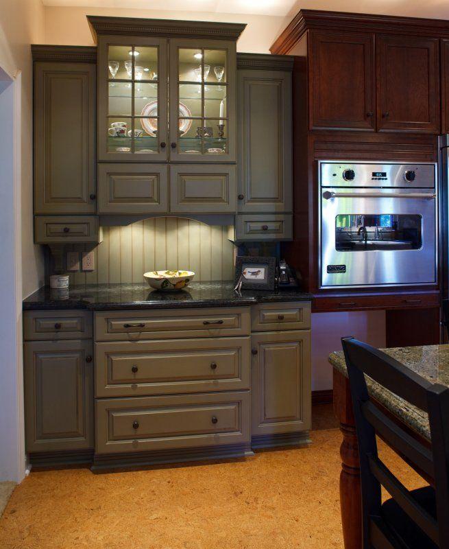 kitchen corner bench seating cafe curtains hutch cabinet | remodeling » we build san ...