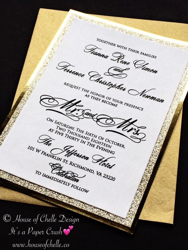 gold glitter wedding invitations gold wedding invitations