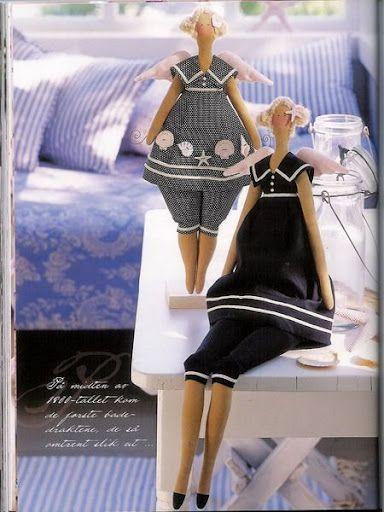 CEREZO DE OFICINA: Muñecas Tilda - Moldes y paso a paso: Books Magazines, Boneca Tilda, Tilda Dolls, Dolls Art, Craft Blackboard, Artesanato Dona, Muñeca Tilda, Art Dolls, Dolls Patterns