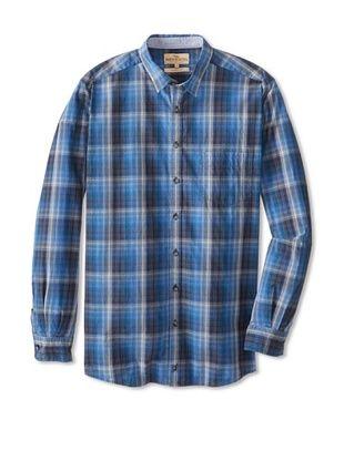 78% OFF Rodd & Gunn Men's Teviotdale Shirt (Sapphire)
