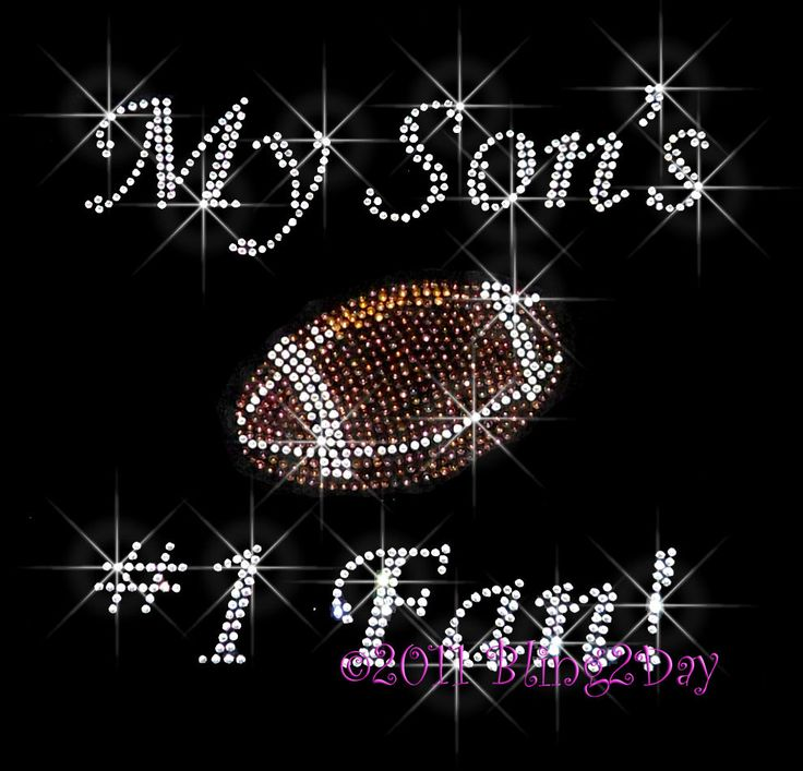 My Sons Number 1 Fan - Football Mom...No matter the outcome of the game!