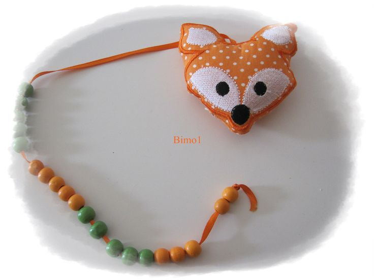 Rechenkette ♥ Fuchs ♥ Rechenhilfe von bimo1 auf DaWanda.com