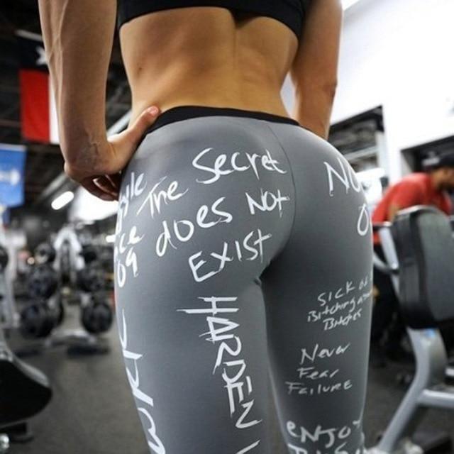Women Yoga Gym Sports Leggings Running Workout Fitness Stretch High Waist Pants