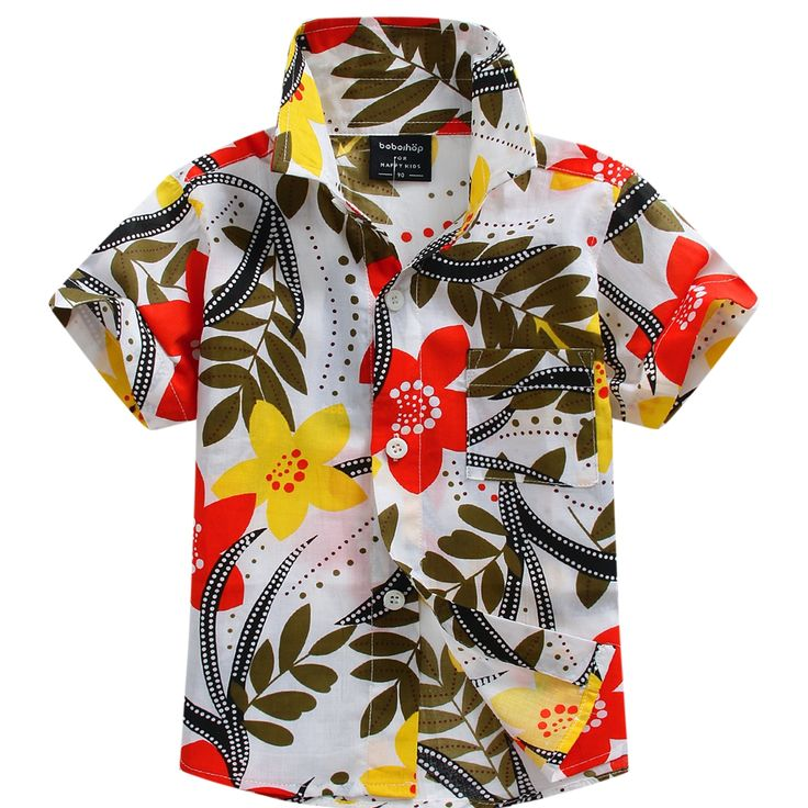 >> Click to Buy << 2016 new arrival cotton 100% floral shirt hawaiian shirt aloha shirt for boy T1550 #Affiliate