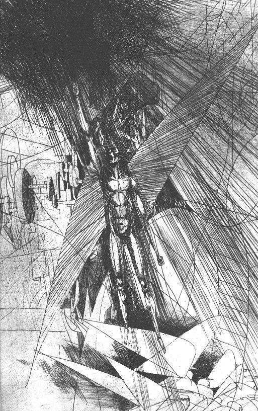János Kass – The Tragedy of Man, 1980