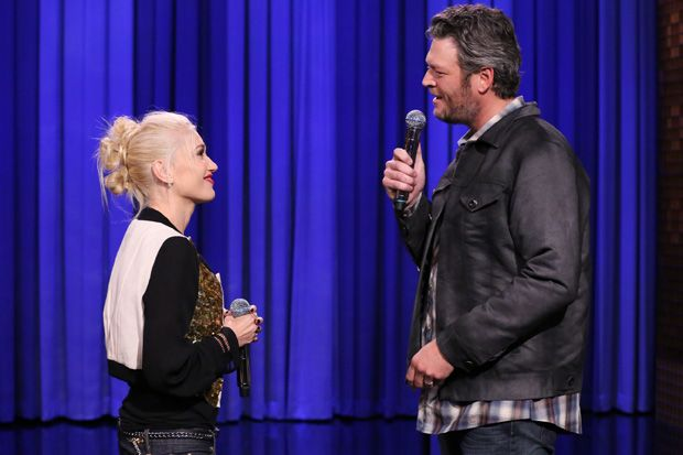 Some People Are Saying That Gwen Stefani and Blake Shelton Are 'Flirting'