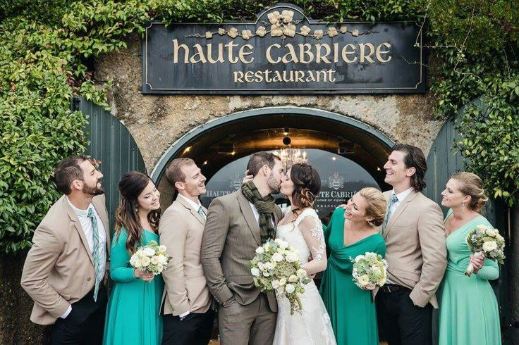 Bridal party Haute Cabriere
