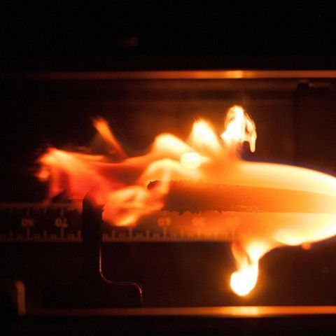 #TBT when Astronaut Tim Kopra played with fire on the International Space Station—part of an experiment called Burning and Suppression of Solids—Milliken (BASS-M), that tested how flame-retardant cotton fabrics burn in microgravity.  Why? Because fire behaves differently in space than it does on Earth. In normal gravity, hot gas rises, drawing in cool, fresh air at the base of the flame. That's what gives flames their familiar teardrop shape. In microgravity, hot gas doesn't rise, so flames…
