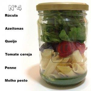 tipos de salada no pote - Pesquisa Google