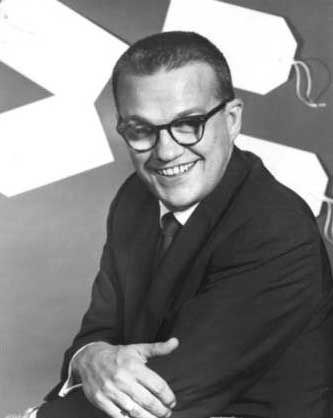 """Bill Cullen (1920 - 1990) Host of many TV game shows, including """"The Price is Right"""" for nine years"""