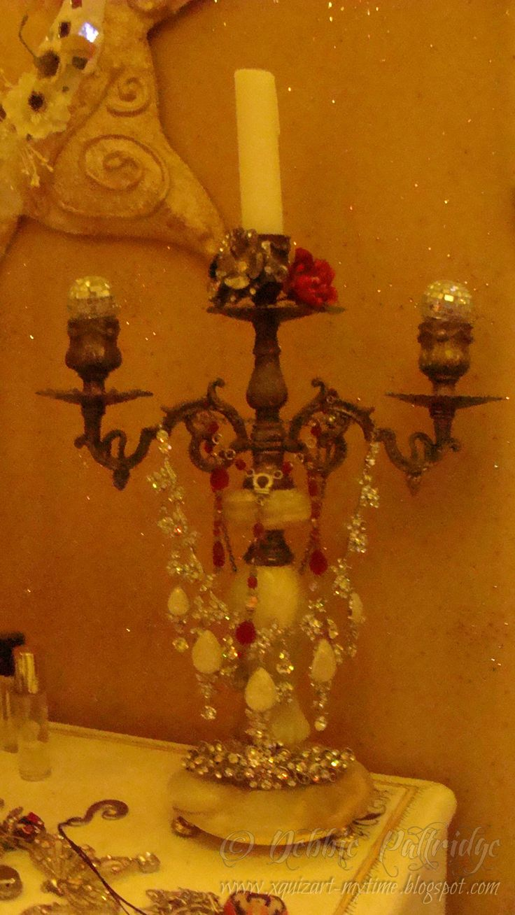 my Oma's candlestick