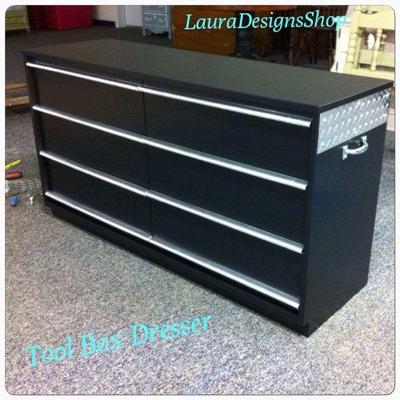 Tool Box Dresser by LauraDesignsShop on Etsy