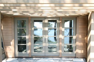 4 Section Glass French Doors Design Ideas, Pictures, Remodel, and Decor - page 3