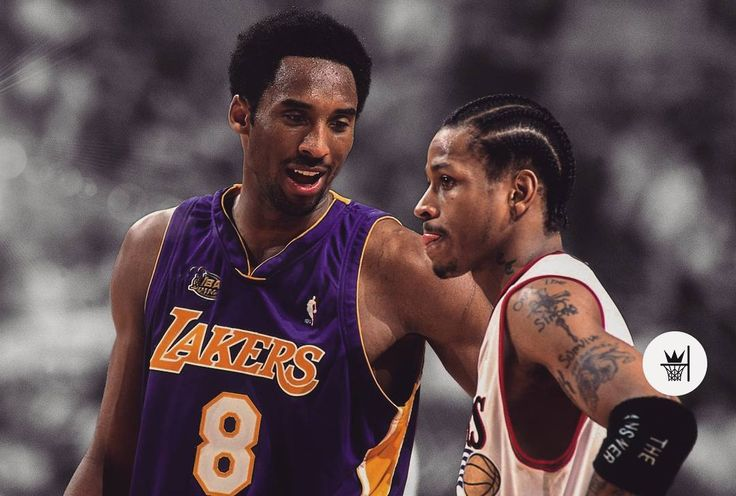 Throwback to 2001 NBA Finals #kobe #alleniverson #sixers #lakers #2001finals #nba #basketball