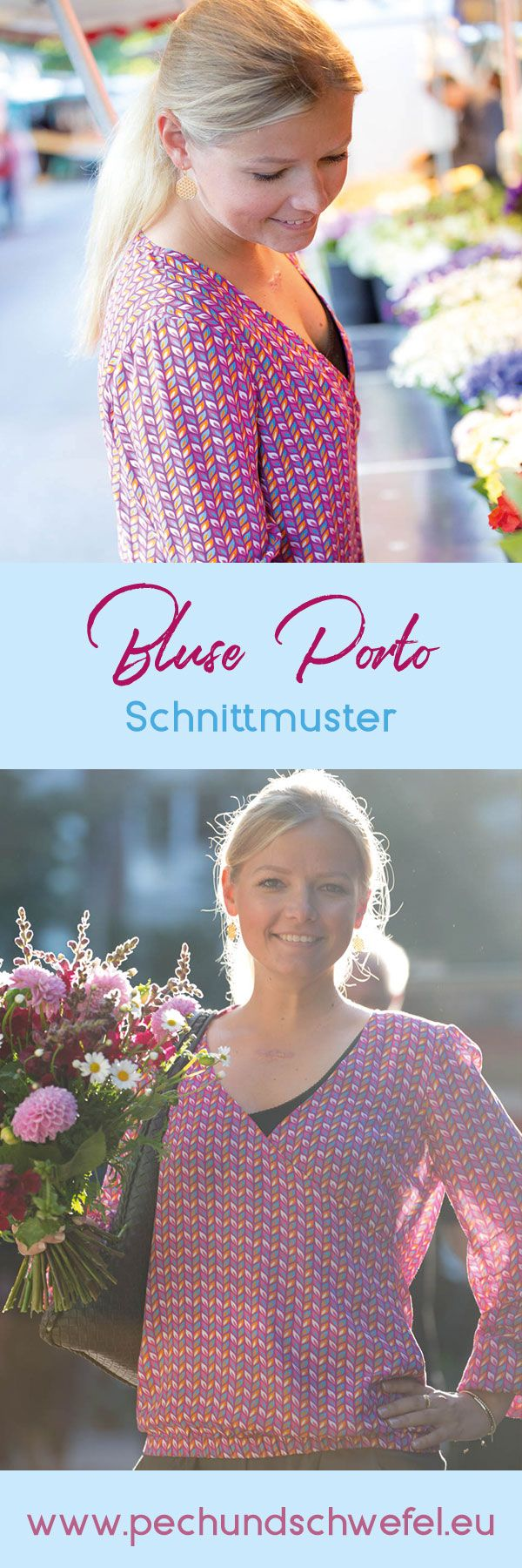 89 best Schnittmuster | Blusen nähen images on Pinterest