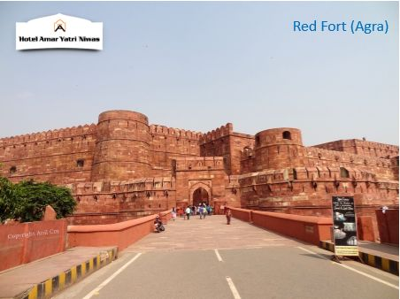 The fort can be more accurately described as a walled palatial city.