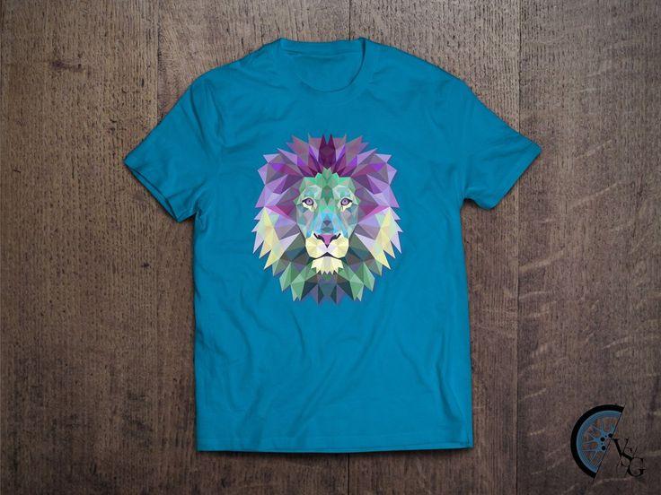 Polygonal Lion T-Shirt