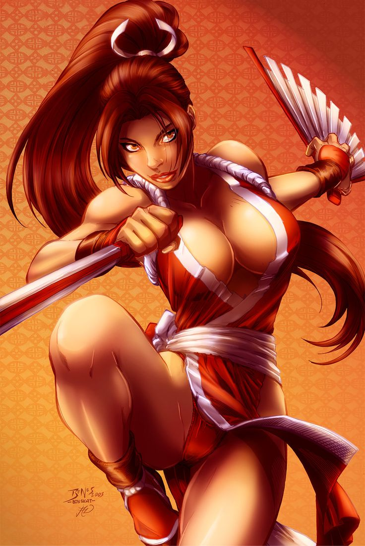 Are not King of fighters mai shiranui confirm