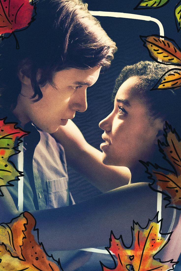 When Maddy and Olly look into each other's eyes, it's definitely love. From the upcoming film Everything, Everything starring Amandla Stenberg as Maddy and Nick Robinson as Olly, based on the young adult novel by Nicola Yoon. | Everything, Everything Movie | In theaters now
